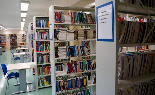 Biblioteka Wydziału Ekonomicznego - czytelnia