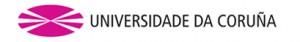 logo Uniwersytet la Coruna (Galicia) HISZPANIA