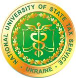 logo Narodowy Uniwersytet Służb Podatkowych Ukrainy w Irpin UKRAINA