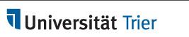 logo Uniwersytet w Trier NIEMCY