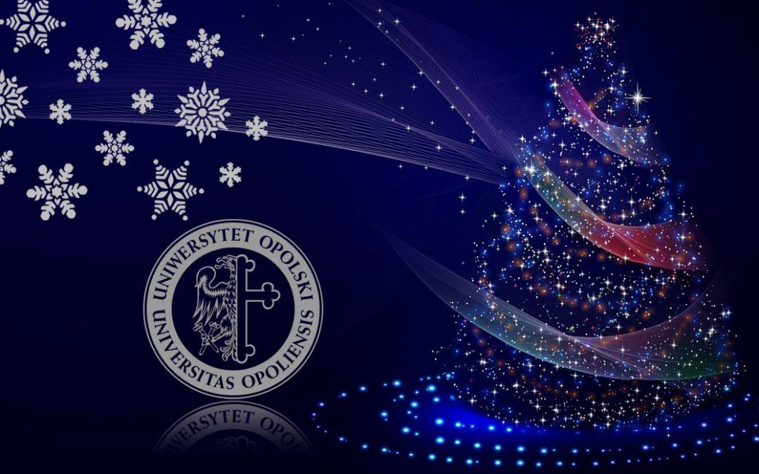 Wesołych świąt i szczęśliwego Nowego 2019 roku