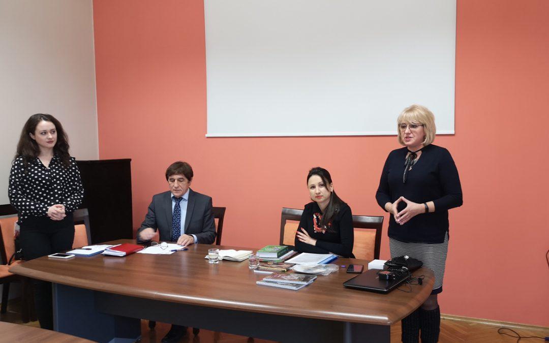 Goście z Uniwersytetu z Irpin (Ukraina)