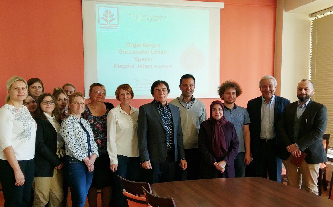 Wizyta naukowców z Uniwersytetu Mazandarzn w Iranie