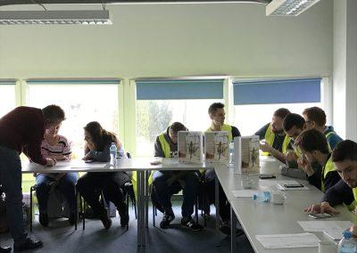 wizyta studyjna studentów