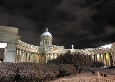 konferencji naukowej w St. Petersburgu