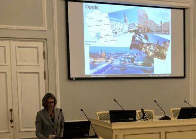 konferencji w St. Petersburgu