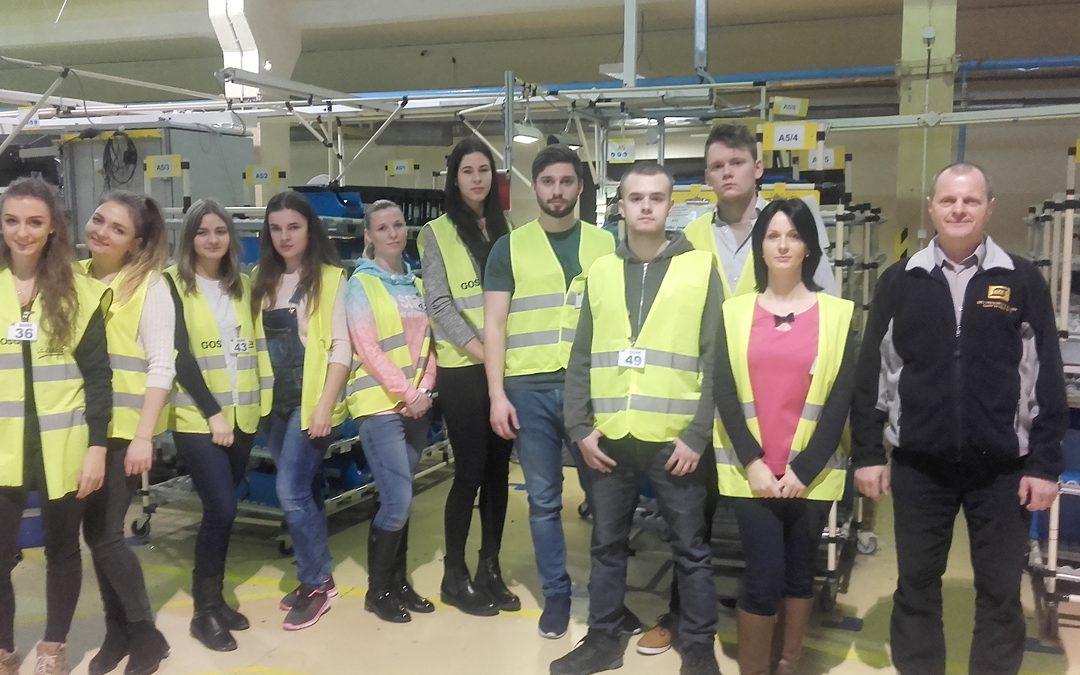 Studenckie wizyty studyjne w przedsiębiorstwach regionu