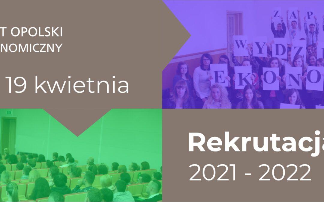 Rekrutacja 2021 - Wydział Ekonomiczny