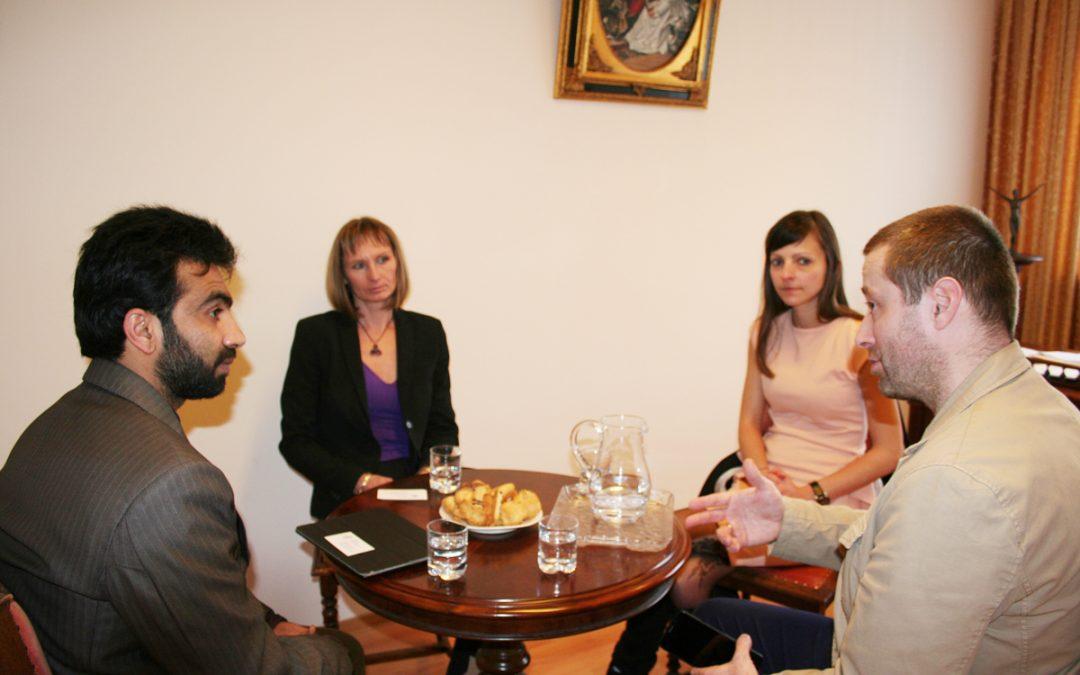 Przedstawiciel Salam University w Afganistanie z wizytą