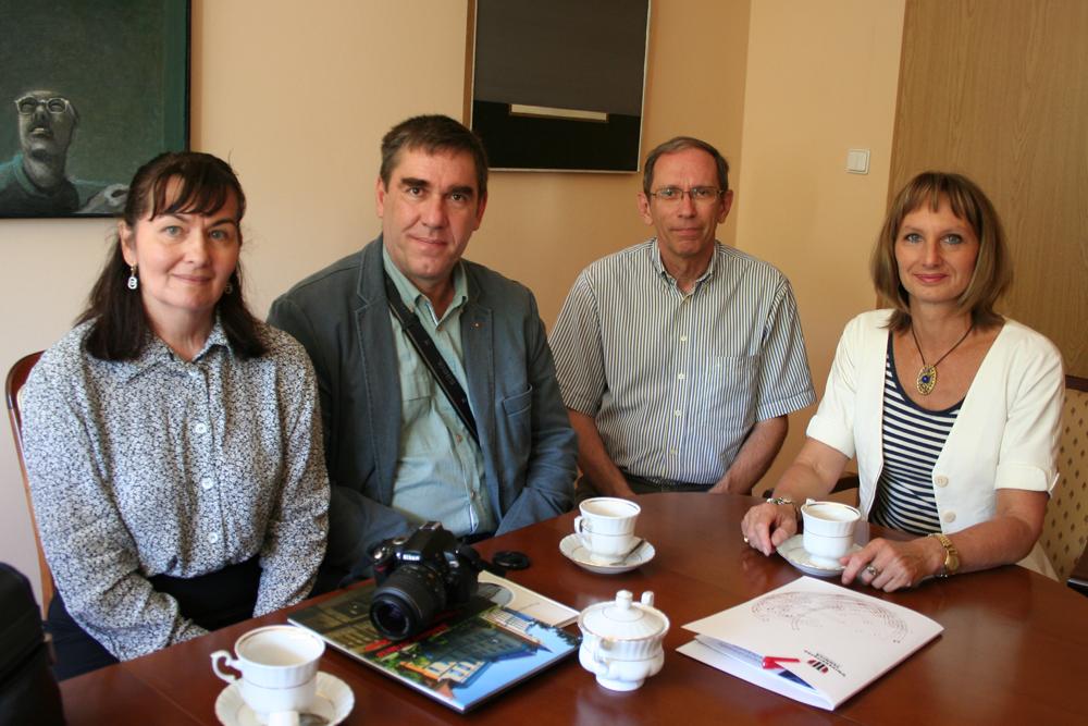 Goście z Uniwersytetu Technicznego w Cluj-Napoca (Rumunia)